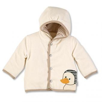 Baby Mädchen Kapuzen-Jacke Nicki Hanno, natur - 5611619