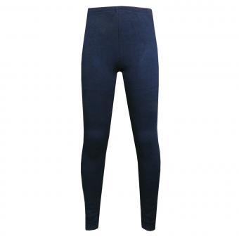 Mädchen Legging Fleece, dunkelblau - 853006-62
