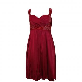Abendkleid Festkleid Mädchen Kleid, rot
