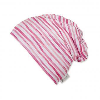 Mädchen Sommermütze Slouch-Beanie, UV-Schutz 50+, rosa - 1521901