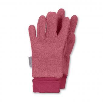 Mädchen Handschuhe Fingerhandschuh Fleece, rot - 4331410