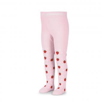 """Mädchen Kinder Baby Strumpfhose """"Erdbeeren"""", rosa – 8602101"""