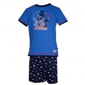 Capt`n Sharky Schlafanzug Kurzarm, dunkelblau