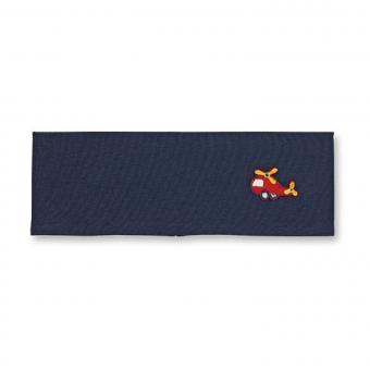 """Jungen Baby Stirnband, dunkelblau """"Hubschrauber"""" - 1801901"""
