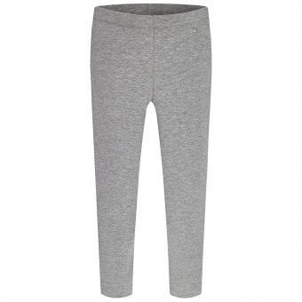 Mädchen Capri Legging einfarbig, grau - 724