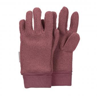 Mädchen Handschuhe Fingerhandschuh Fleece, pflaume - 4331410-pflau