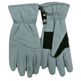 Mädchen Thermo Fingerhandschuh Kinder Ski-Handschuh gefüttert, grau - 9501800