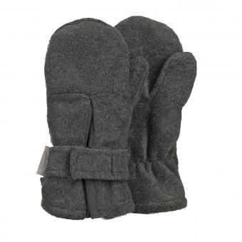 """Jungen Fäustlinge Handschuhe Fleece mit Klettverschluss """"Falte"""", anthrazit mel. - 4301430"""