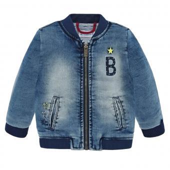 Jungen Baby Jacke Jeansjacke, jeansblau - 1.456