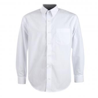 Teens Jungen festliches Langarmhemd, weiß - 5511weiß