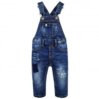 Jungen Latzhose Jeans, blau - 2.664