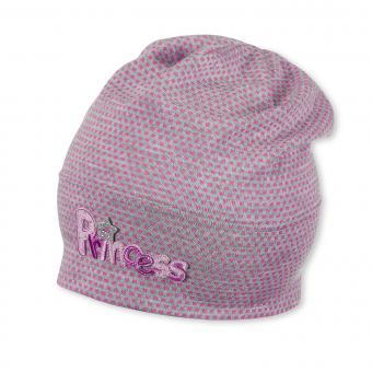 Sommermütze Mädchen gepunktet, pink - 1411765