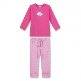 Mädchen Schlafanzug Pyjama, rosa - 221408