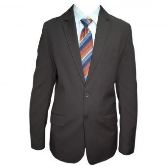 Jungen Anzug festlich Jacke und Hose Slim, dunkelbraun