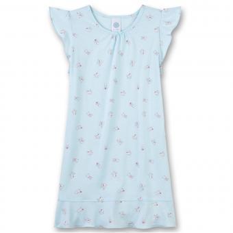 """Mädchen Nachthemd kurzärmlig, hellblau """"Dalmatiner"""" - 232259"""