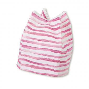 Mädchen Baby Sommermütze Erstlingsmütze Zackenmütze, UV-Schutz 50+, rosa - 1501935