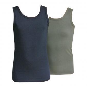 2er Set Unterhemd Tank Tops Mädchen und Jungen, mehrfarbig
