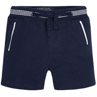 Kurze Babyshorts Jungen kurze Hose, dunkelblau - 1285