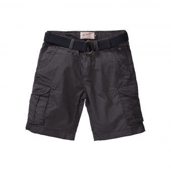 Petrol Industries Jungen Chino-Shorts mit Gürtel, dunkelblau - B-SS19-SHO500