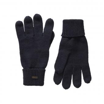 Jungen Strickhandschuhe Fingerhandschuhe Petrol Ind., dunkelblau - B-3090-GLO930
