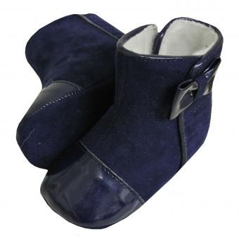 Baby Schuhe Mädchen, blau - 9369