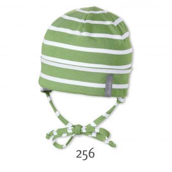 Umschlagmütze zum Binden kurze Mütze Jungen, grün