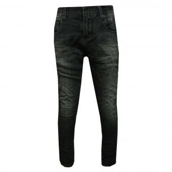 Jeans Jungen Used Look, dunkelblau