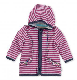 Baby Mädchen Kapuzen-Jacke Sweat Emilie, pink - 2621621