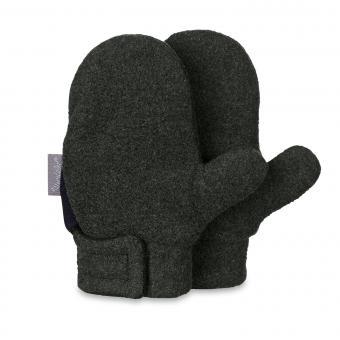 Jungen Fäustlinge Handschuhe Fleece, anthrazit - 4301420