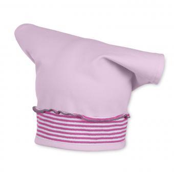 Tuchmütze Kopftuch für Mädchen, rosa - 1451700
