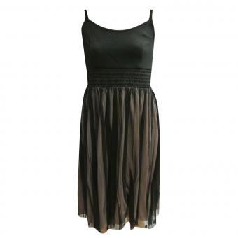 Festliches Kleid Mädchen Trägerkleid, schwarz - 564532