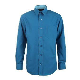 Jungen Festliches Hemd langarm, dunkelpetrol - 5511900