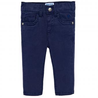 Baby Jungen Stoffhose festliche Hose Regular-Fit, dunkelblau - 506