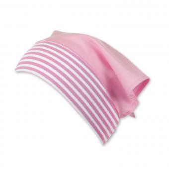 Tuchmütze Kopftuch einfarbig, mandelblüte - 1451801