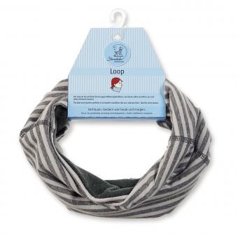 Jungen Loop Schal gefüttert, Grau - 4221720g