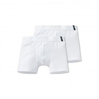 Jungen Unterhosen Shorty 2-er Set, weiß - 159299