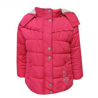 Mädchen Steppanorak Jacke, pink