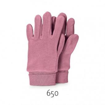 Mädchen Handschuhe Fingerhandschuh Fleece, perlrosa - 4331410-perlr