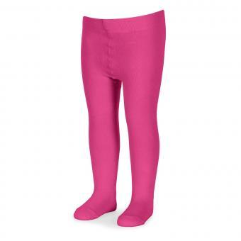 Mädchen Strumpfhose einfarbig, pink - 8601630