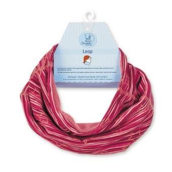 Mädchen Loop Schal Stern, rot - 4221721r