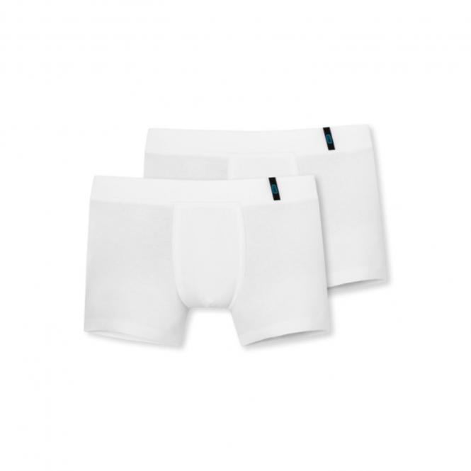 Jungen Unterhosen Shorty 2-er Set, 100 weiss - 159455