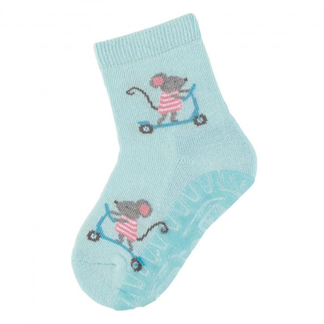 """Mädchen Socken Fliesen Flitzer Air """"Mäuse"""", türkis - 8032016"""
