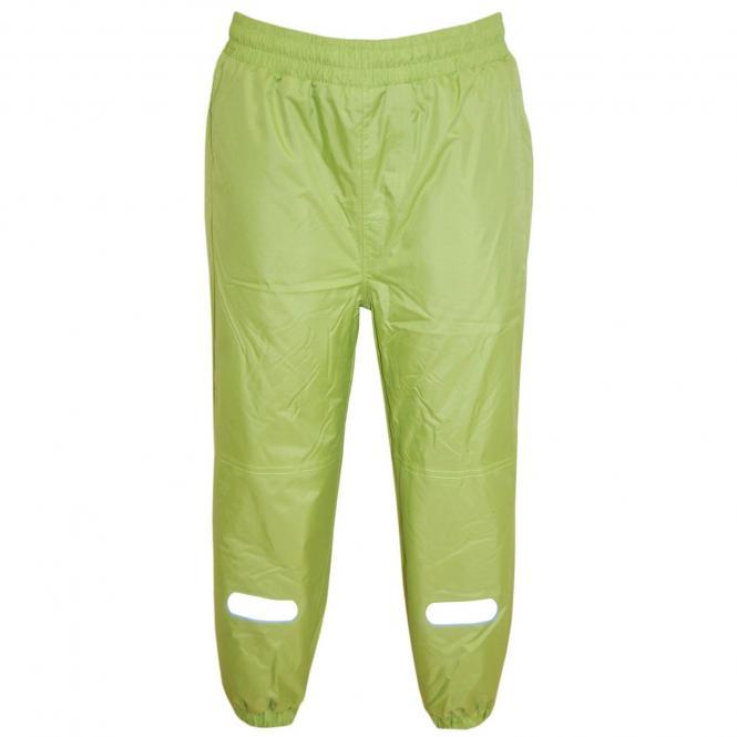 Jungen Mädchen Regenhose Skihose Schneehose Fleece-Futter wasserundurchlässig, grün