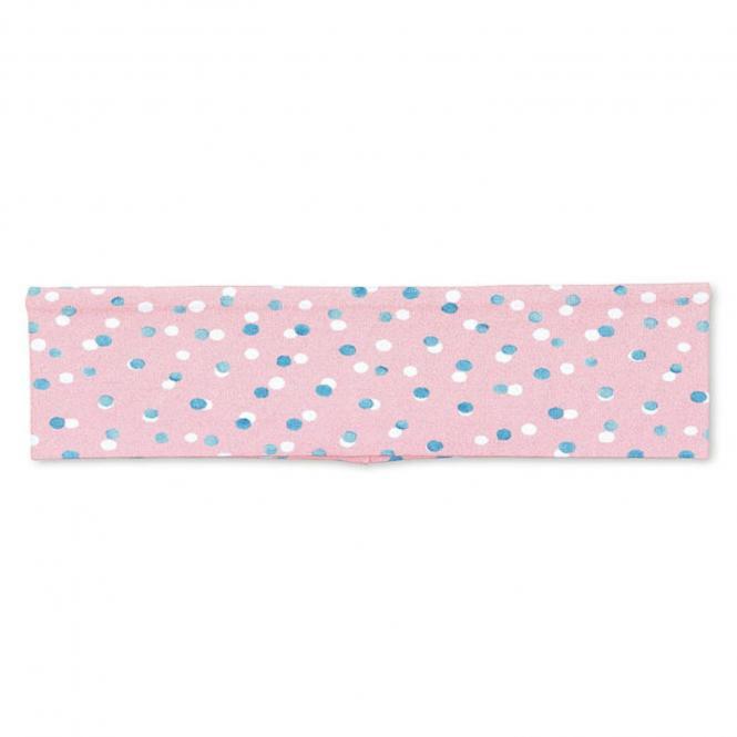 Mädchen Stirnband Punktemotiv, rosa - 1801900-zartr