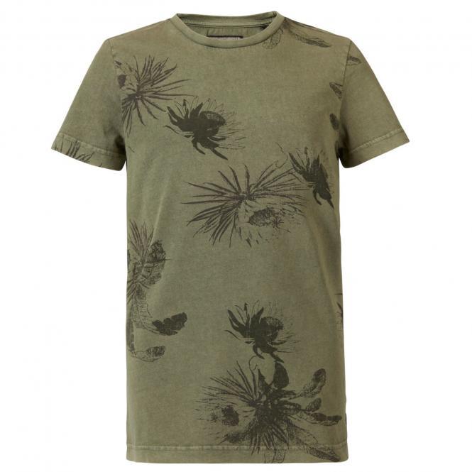 Jungen T-Shirt, Kurzarmshirt, Petrol Ind., grün - TSR633