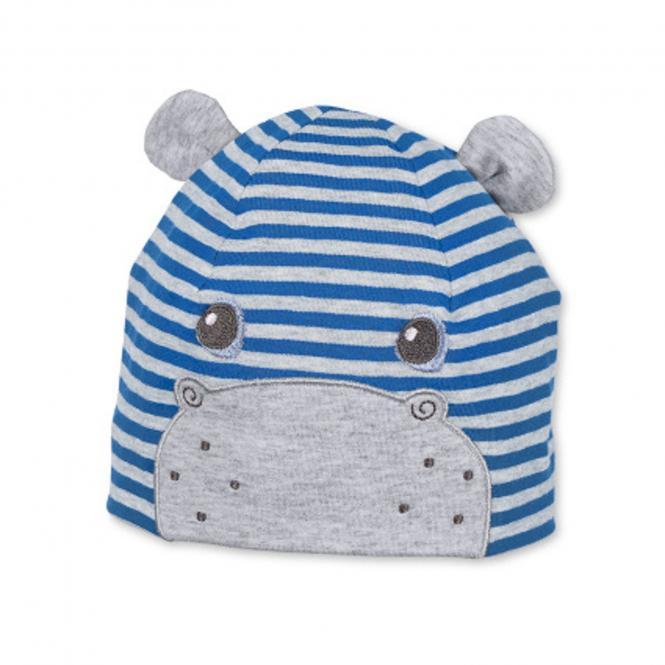 Beanie Mütze Jungen mit Öhrchen, blau - 1611870