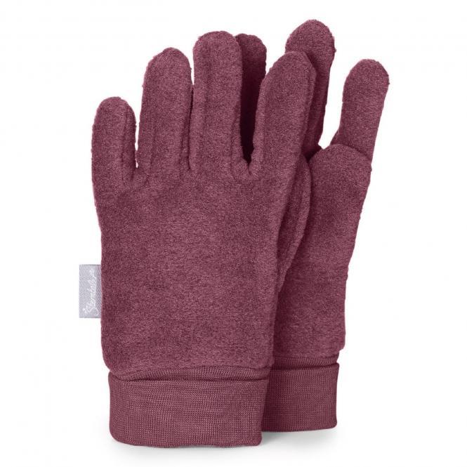Mädchen Handschuhe Fingerhandschuhe Microfleece, lila - 4331410