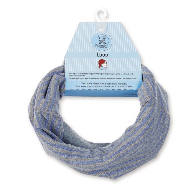 Jungen Loop Schal gefüttert, blau - 4221720b