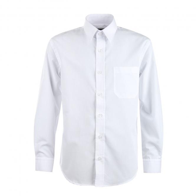 Jungen Festliches Hemd langarm, weiss - 5511900