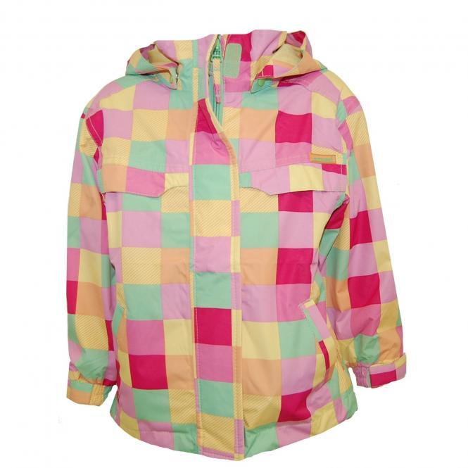 Mädchen Funktionsjacke Regenjacke, gelb